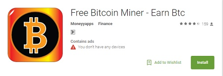 free bitcoin btc miner app review