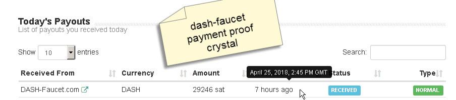 LEGIT - Dash-Faucet com Reviews: SCAM or LEGIT
