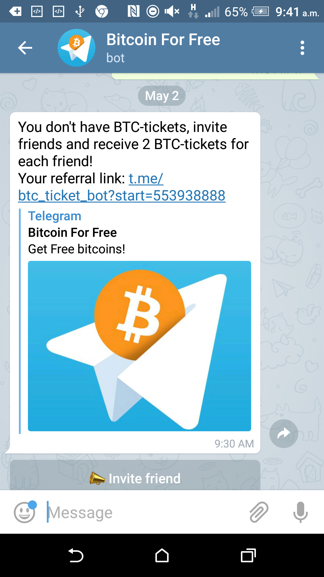 NEW - @btc_ticket_bot Reviews: SCAM or LEGIT? | BeerMoneyForum com