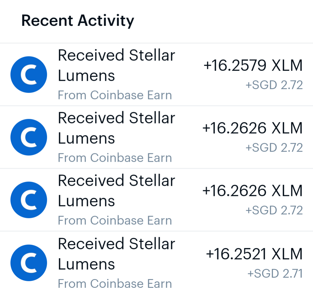 ⚠️MUST READ] Coinbase $50 XLM Giveaway