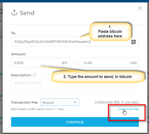 FREE - [Tutorial] How to send bitcoin from your Blockchain