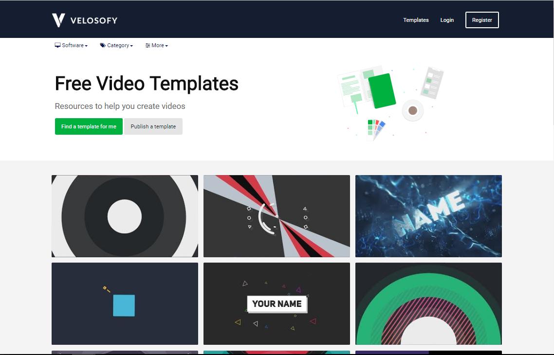Ausgezeichnet Kostenlose Video Intros Vorlagen Ideen - Beispiel ...