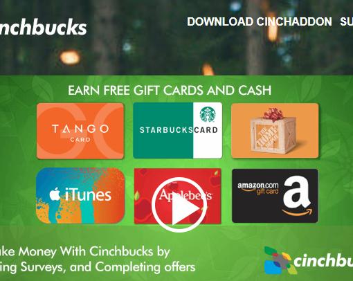 Cinchbucks Review