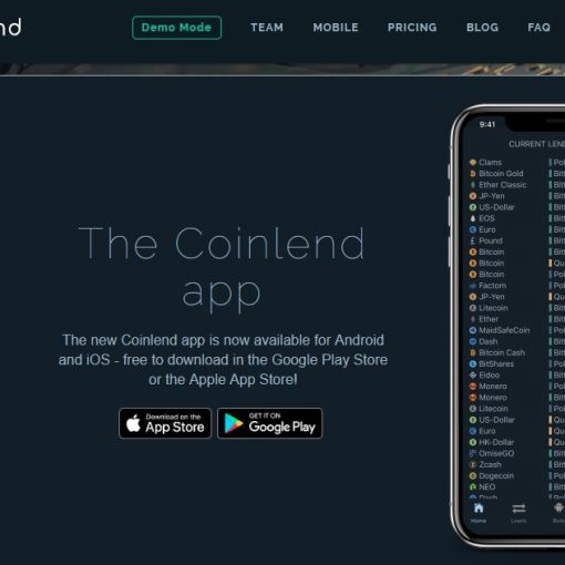 Coinlend Review