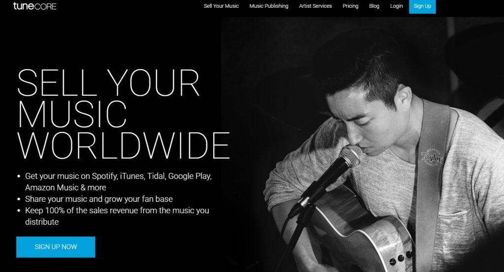 Tunecore Review - Sell Your Music Online - BMF Blog