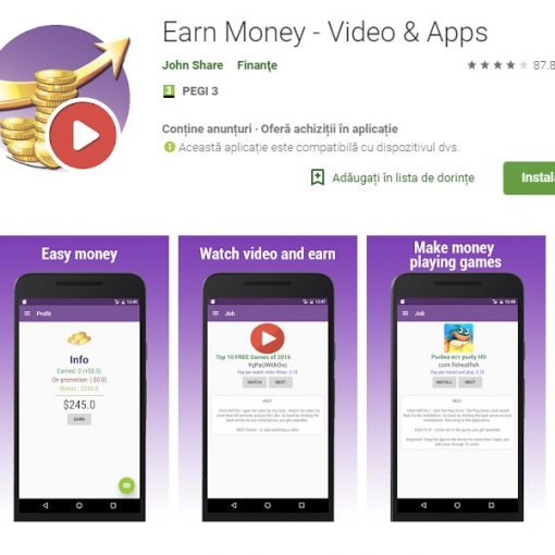 Earn Money- Video & Apps Review