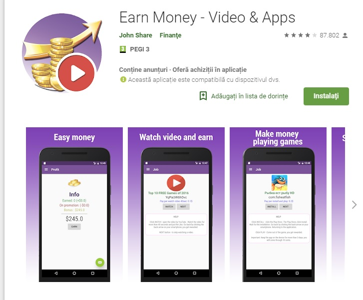 Earn Money - Video & Apps Review: SCAM or LEGIT? - BMF Blog