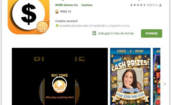 Big Time Cash. Make Money Free App Review