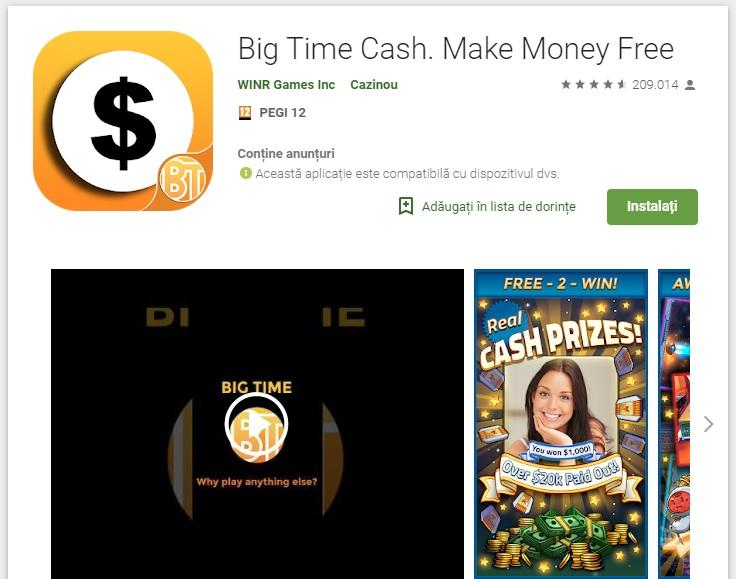Big Time Cash  Make Money Free App Review: SCAM or LEGIT? - BMF Blog
